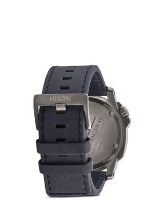 Figure View - Click To Enlarge - Nixon Accessories - 'Ranger 45 Leather' watch