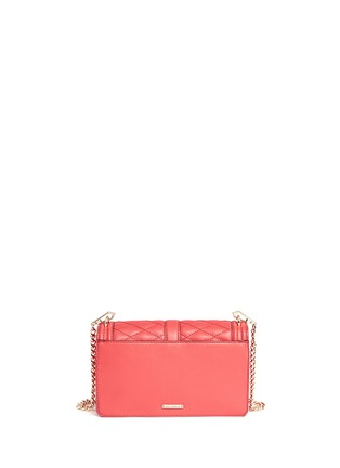 Back View - Click To Enlarge - Rebecca Minkoff - 'Love' quilted leather crossbody bag