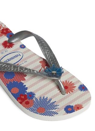 Detail View - Click To Enlarge - HAVAIANAS - 'Caprice' floral print flip flops