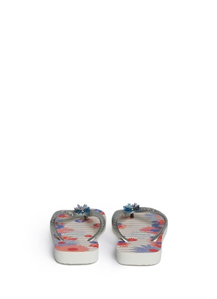Back View - Click To Enlarge - HAVAIANAS - 'Caprice' floral print flip flops