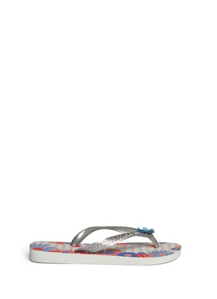 Main View - Click To Enlarge - HAVAIANAS - 'Caprice' floral print flip flops