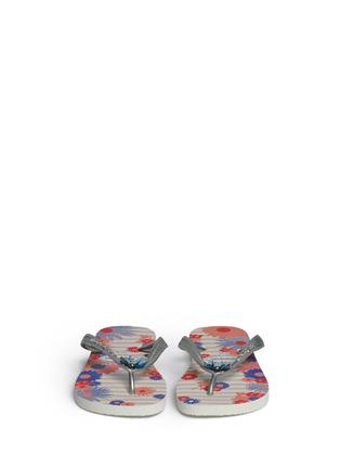 Figure View - Click To Enlarge - HAVAIANAS - 'Caprice' floral print flip flops