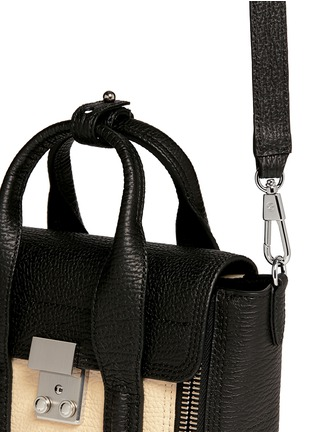 Detail View - Click To Enlarge - 3.1 Phillip Lim - 'Pashli' mini colourblock leather satchel
