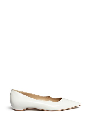 Main View - Click To Enlarge - Paul Andrew - 'Zoya' wavy leather flats