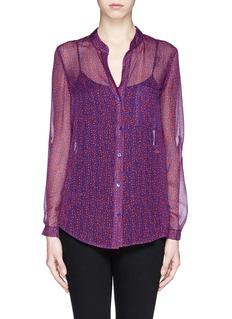 DIANE VON FURSTENBERG'Gilmore' silk shirt