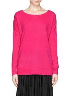 DIANE VON FURSTENBERG'Jenia' boxy cashmere sweater