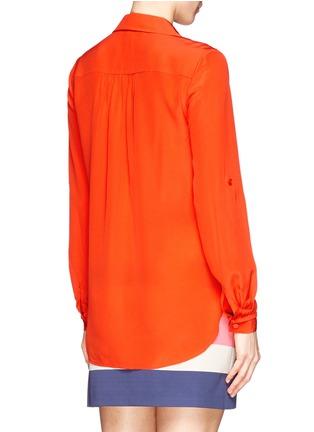 Back View - Click To Enlarge - DIANE VON FURSTENBERG - 'Lorelei Two' silk chiffon blouse
