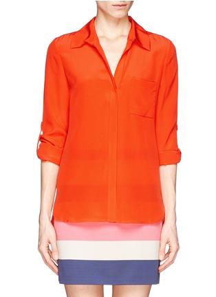 Main View - Click To Enlarge - DIANE VON FURSTENBERG - 'Lorelei Two' silk chiffon blouse