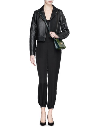 Detail View - Click To Enlarge - Theory - 'Stassia' silk jumpsuit