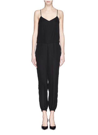 Main View - Click To Enlarge - Theory - 'Stassia' silk jumpsuit