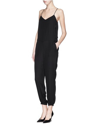 Figure View - Click To Enlarge - Theory - 'Stassia' silk jumpsuit