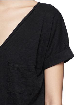 细节 - 点击放大 - RAG & BONE/JEAN - 纯棉口袋T恤