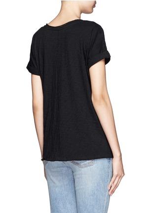 背面 - 点击放大 - RAG & BONE/JEAN - 纯棉口袋T恤