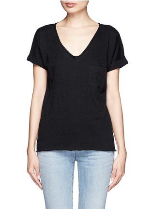 首图 - 点击放大 - RAG & BONE/JEAN - 纯棉口袋T恤