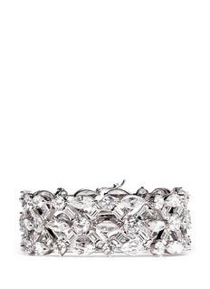 CZ BY KENNETH JAY LANEMixed cut cubic zirconia bracelet