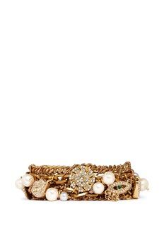 LULU FROSTBord La Mer multi-chain bracelet