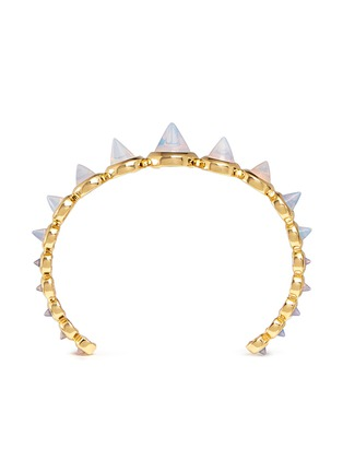 Main View - Click To Enlarge - Eddie Borgo - Graduated opal glass cone cuff