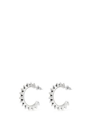 Main View - Click To Enlarge - Philippe Audibert - 'Hose' spike hoop earrings