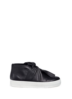 Ports 1961 Knot vamp platform leather sneakers