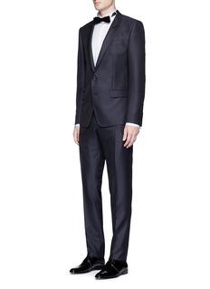 Dolce & Gabbana'Martini' diamond jacquard wool-silk tuxedo suit