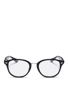Ray-Ban 'RB5355F' metal bridge acetate optical glasses