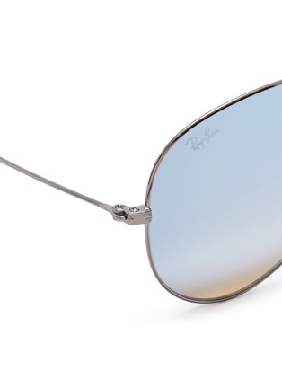 Detail View - Click To Enlarge - Ray-Ban - 'RB3558' aviator mirror sunglasses