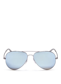 Ray-Ban 'RB3558' aviator mirror sunglasses