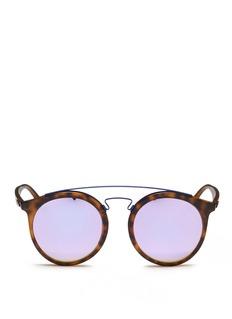 Ray-Ban'RB4256F' round mirror sunglasses