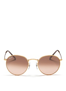 Ray-Ban 'Round Metal' coined sunglasses