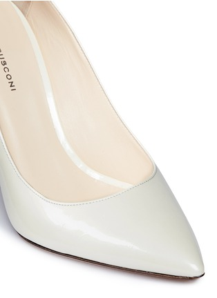 Detail View - Click To Enlarge - Fabio Rusconi - 'Esca' chunky heel leather pumps