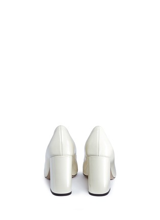 Back View - Click To Enlarge - Fabio Rusconi - 'Esca' chunky heel leather pumps