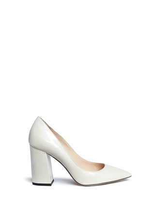 Main View - Click To Enlarge - Fabio Rusconi - 'Esca' chunky heel leather pumps