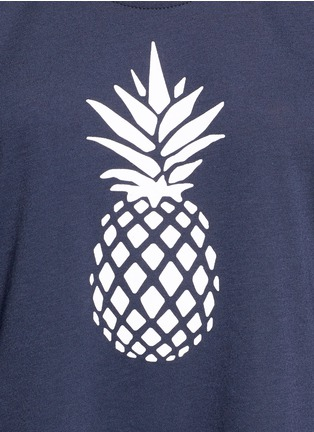 Detail View - Click To Enlarge - The Upside - Pineapple print performance tank top
