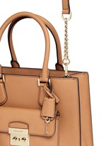 'Bridgette' medium saffiano leather tote