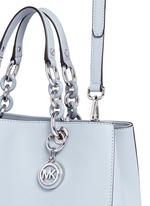 'Cynthia' medium saffiano leather satchel