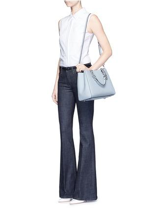 Michael Kors-'Cynthia' medium saffiano leather satchel
