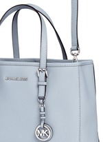 'Jet Set Travel' medium saffiano leather east west tote