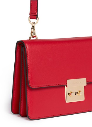 Detail View - Click To Enlarge - Michael Kors - 'Sloan' large calf leather crossbody bag