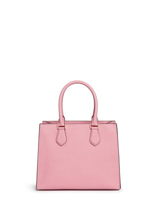 Back View - Click To Enlarge - Michael Kors - 'Bridgette' medium saffiano leather tote