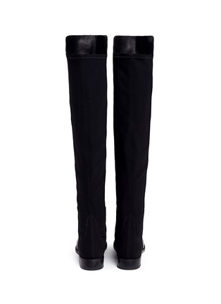 Back View - Click To Enlarge - Stuart Weitzman - '5050' elastic back leather boots