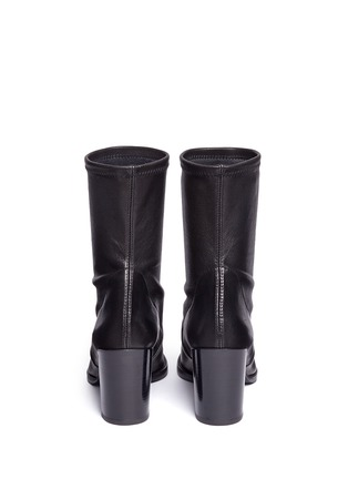 Back View - Click To Enlarge - Stuart Weitzman - 'Calare' stretch leather boots
