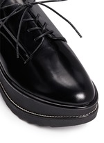 'Kent' leather platform Oxfords
