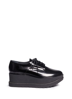 Stuart Weitzman 'Kent' leather platform Oxfords
