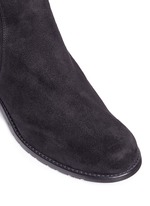 'Reserve' elastic back suede boots