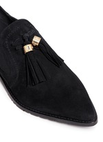 'Sprouts' tassel suede loafer slip-ons