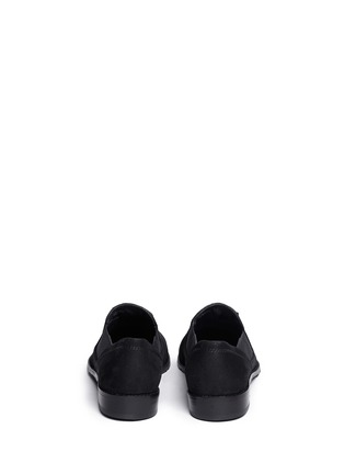 Back View - Click To Enlarge - Stuart Weitzman - 'Sprouts' tassel suede loafer slip-ons