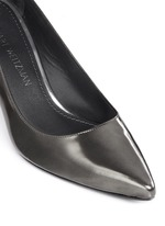 'First Class' patent leather pumps