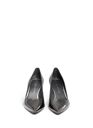 Front View - Click To Enlarge - Stuart Weitzman - 'First Class' patent leather pumps