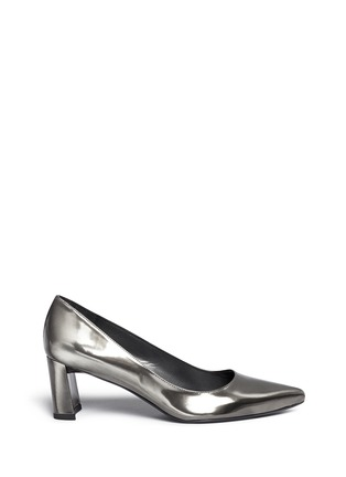 Main View - Click To Enlarge - Stuart Weitzman - 'First Class' patent leather pumps