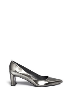 Stuart Weitzman 'First Class' patent leather pumps